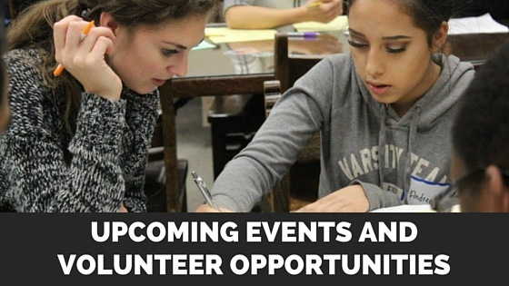 Upcoming Events and Volunteer Opportunities - Spring Newsletter