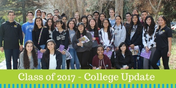 Class of 2017 College Update Header
